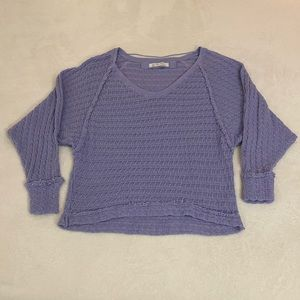 We The Free- Lavender sweater